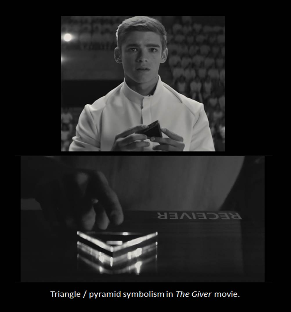 symbolism on the giver