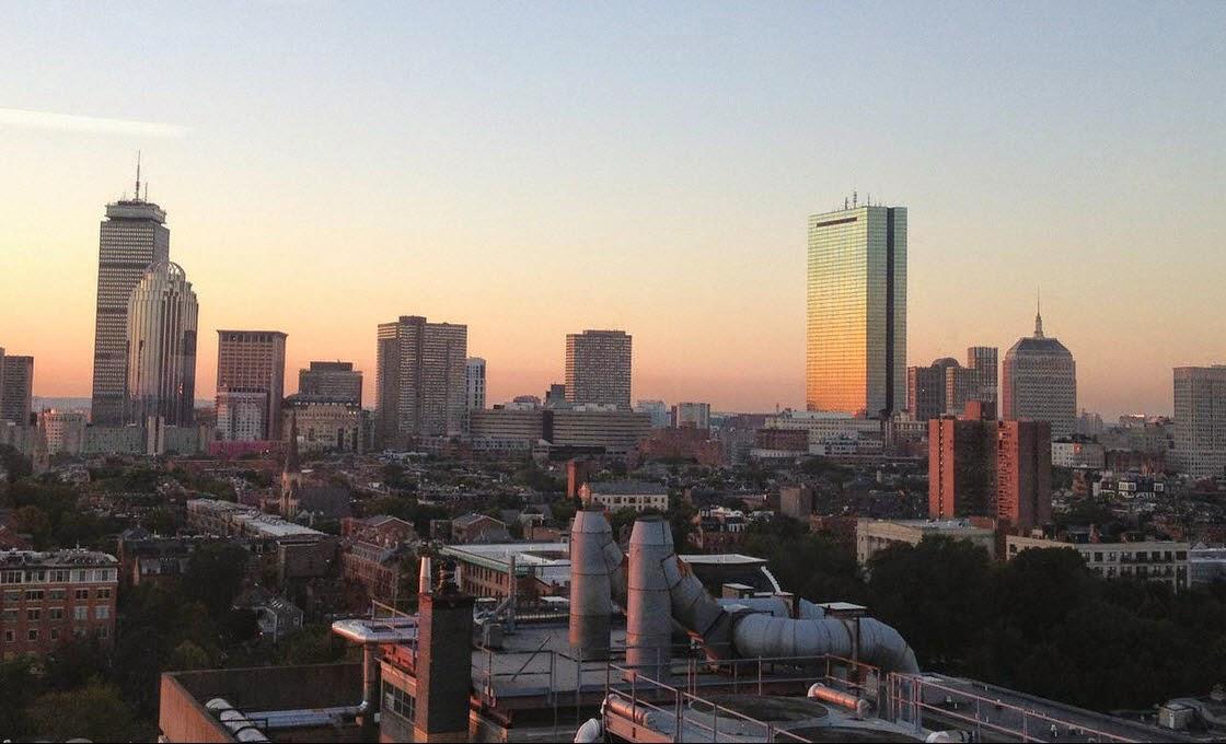 Boston Skyline by Rachel Medanic