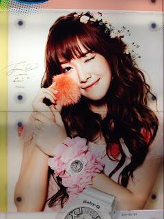 SNSD Jessica Casio Baby G Singapore