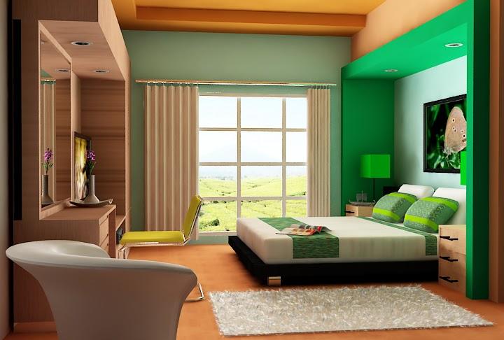 model kamar tidur utama