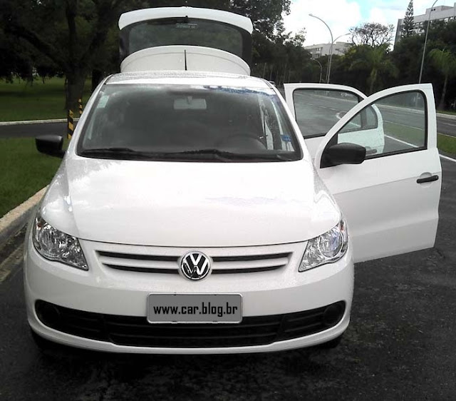 Volkswagen Gol G5 2011 1.0 Trend - frente