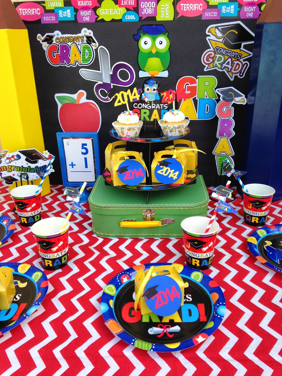 Pre school kindergarten graduation party ideas laura 39 s - Kindergarten graduation decorations ...