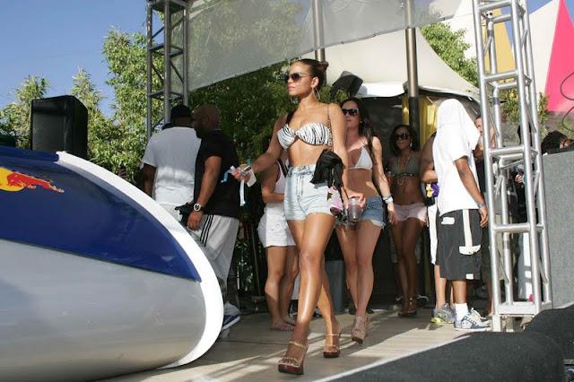 Christina Milian – Bikini Candids in Las Vegas