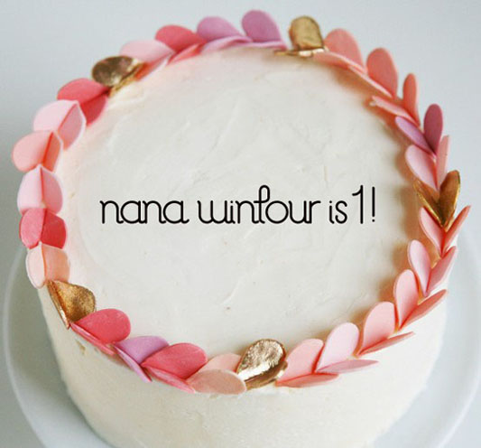 Nana Wintour Turns 1!