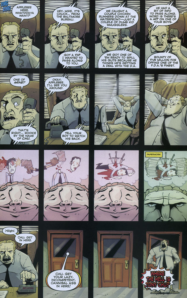 Chew #4 by John Layman and Rob Guillory