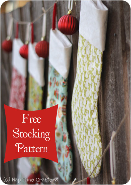 Sewing Patterns For Christmas Stockings Free Free Pattern For Christmas