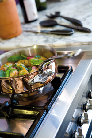 how to cook filet mignon in stainless steel pan