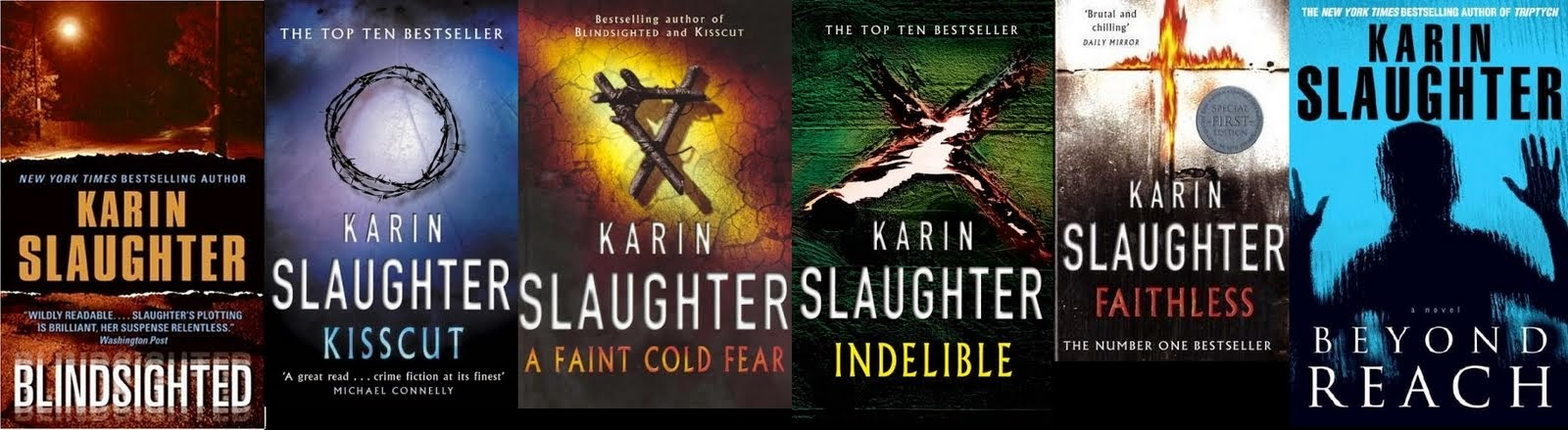 karen slaughter books in order