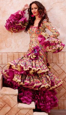 moda flamenca Margarita Freire 2011