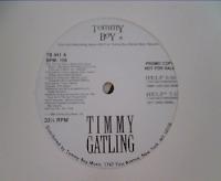 Timmy Gatling - Help (Promo VLS) (1989)