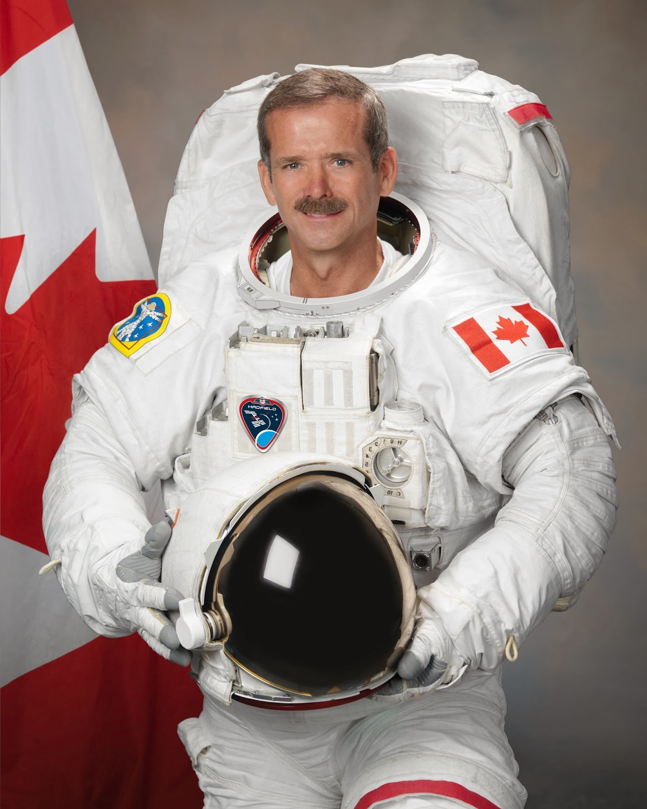 Essay of Earth from ISS - Chris Hadfield