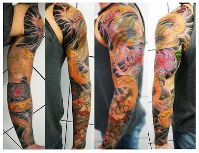 Dicas de Tatuagens no Braço Inteiro (todo)