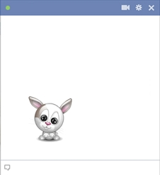 Bunny chat emoticon