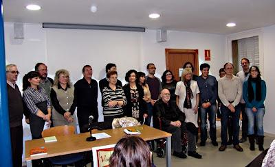 Fotografia de grup dels premiats
