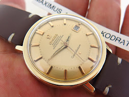 OMEGA CONSTELLATION CHRONOMETER PIE PAN DIAL GOLD TOP - AUTOMATIC CAL 561