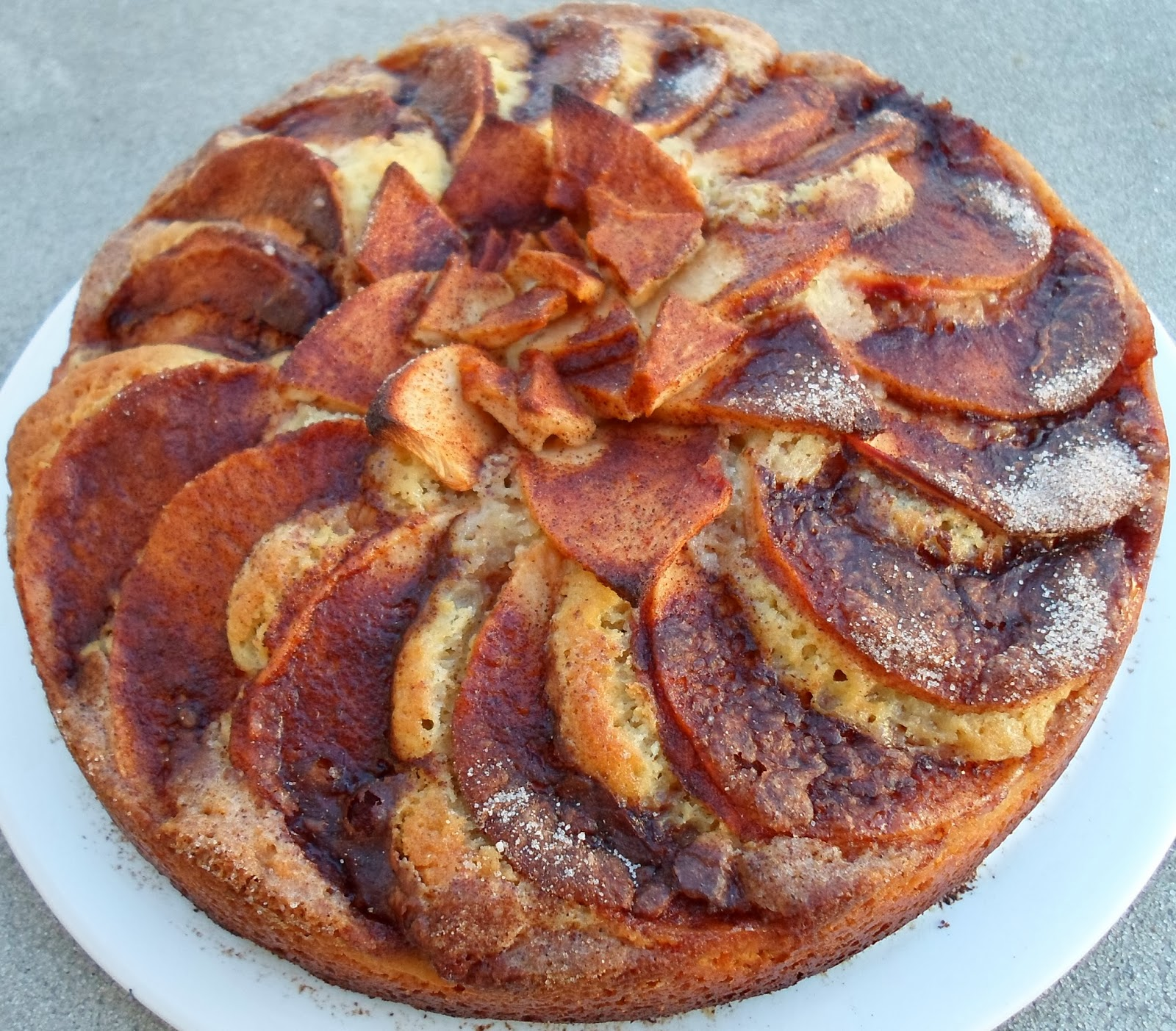 Happier Than A Pig In Mud: German Apple Cake