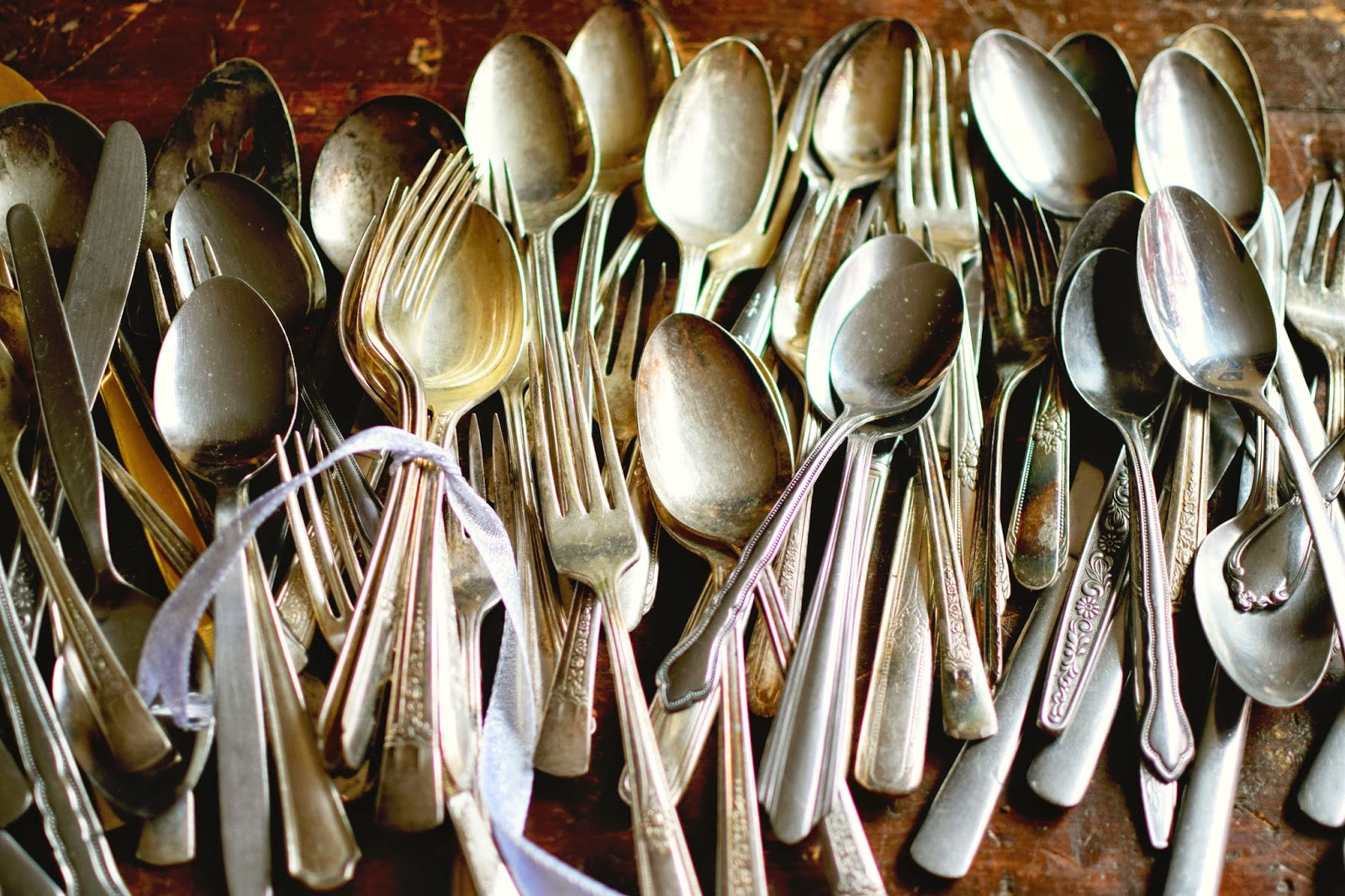 Vintage Silver-Plated Cutlery