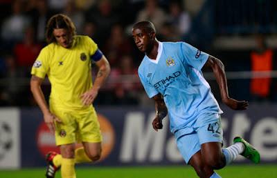 Villarreal 0 - 3 Manchester City (1)
