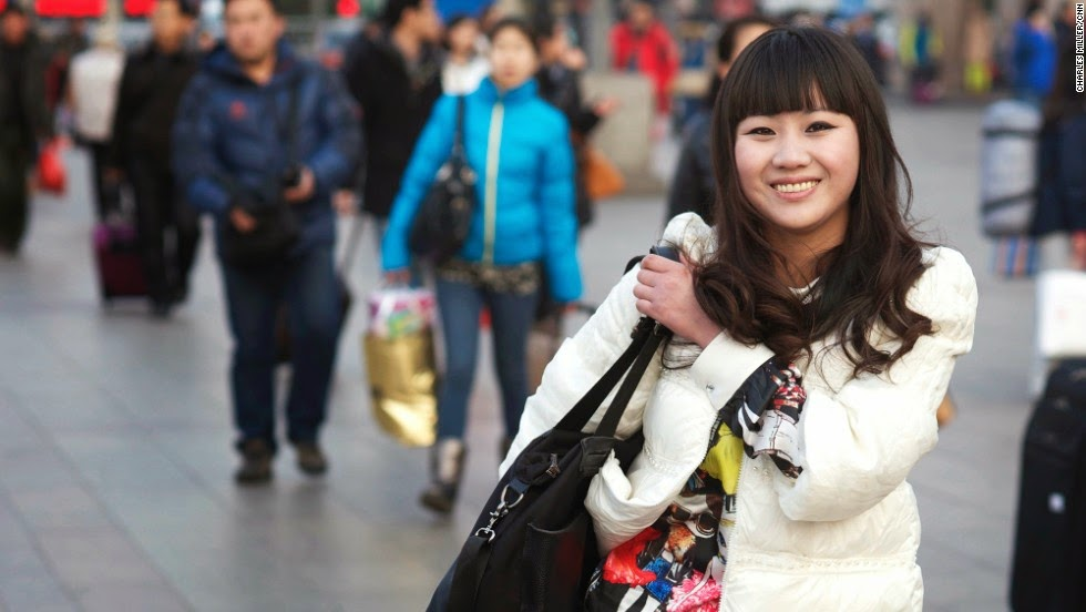 Lunar New Year: Tales from Beijing Railway Station.