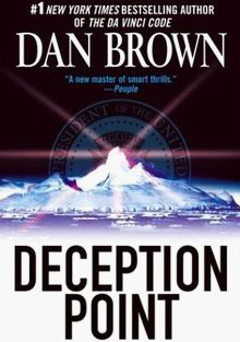 Cover of Deception Point, a novel by Dan Brown