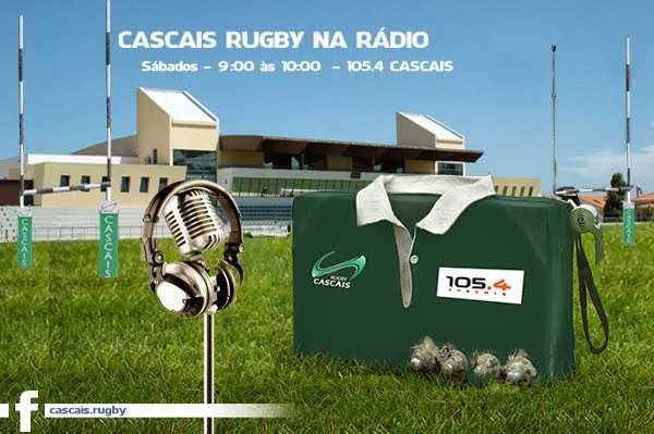 Cascais Rugby na Rádio