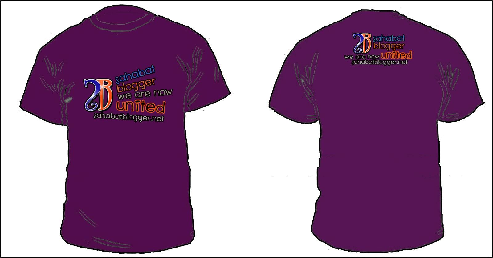 Contest Design T-shirt Rasmi Sahabat Blogger