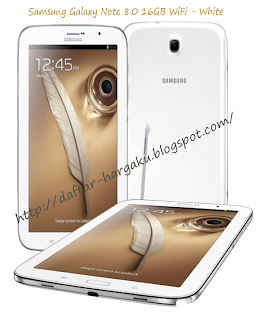 Info Harga Samsung Galaxy Note 8.0 16GB WiFi - White