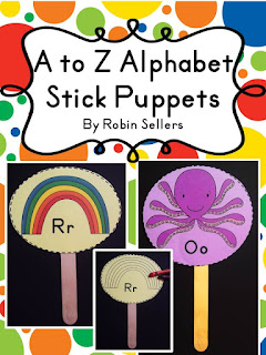 letter puppets printables