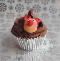 Cupcake Navidad: Rudolph
