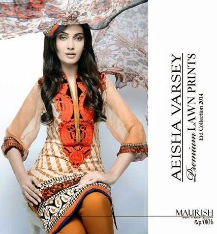 Aeisha Varsey Lawn Eid Collection 2014
