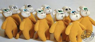 обезьянки из флиса