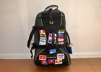 mochila, viatge, viaje