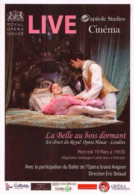 le ballet la belle au bois dormant live au cin ma capitole studios. Black Bedroom Furniture Sets. Home Design Ideas
