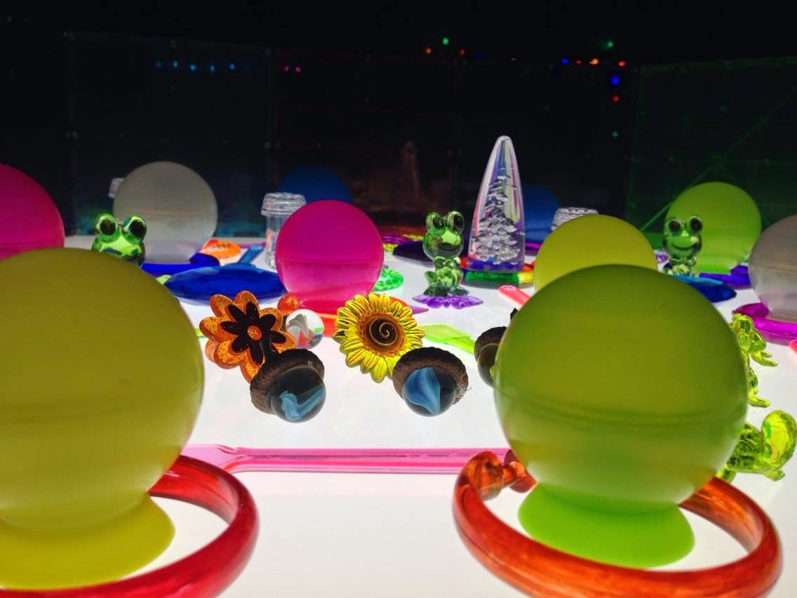 creative manipulatives for the light table