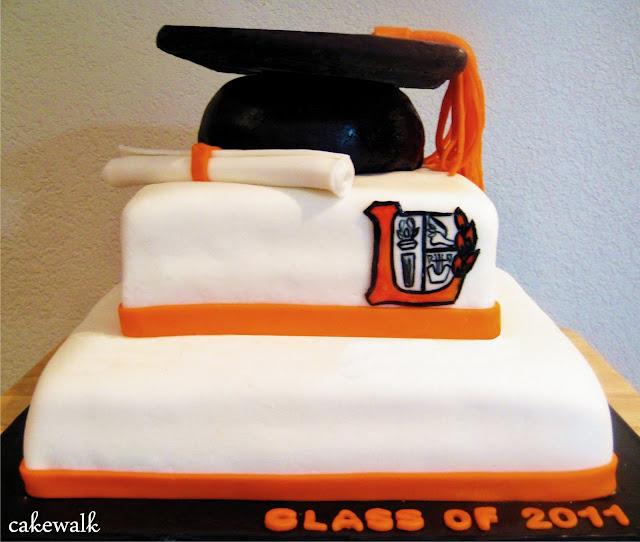 More graduation inspiration from cakewalk: graduation dessert table
