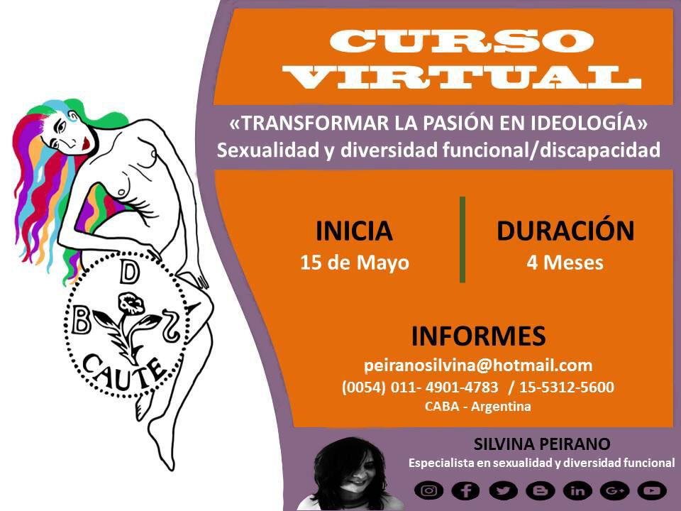 Curso Virtual Sexualidad y diversidad funcional