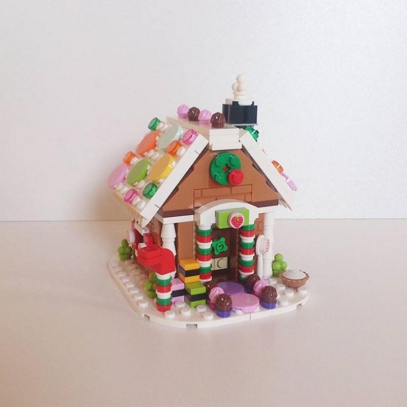 Maison pain d'épice 2015 lego