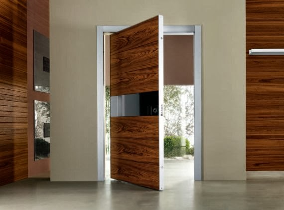 Main door modern design home decoration and interior design for Contemporary interior doors