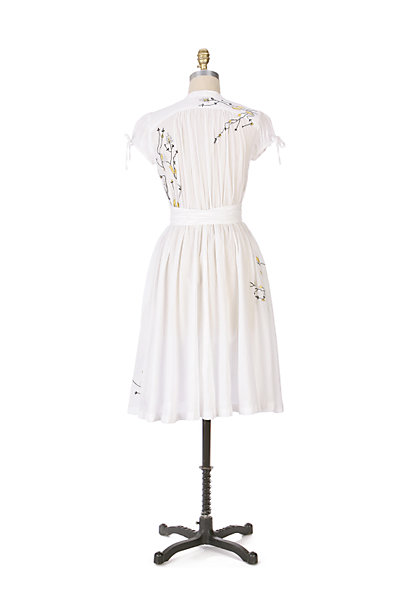 Anthropologie Twigs and Branches Dress