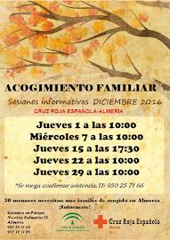 Sesiones Informativas de Acogimiento Familiar en diciembre de 2016