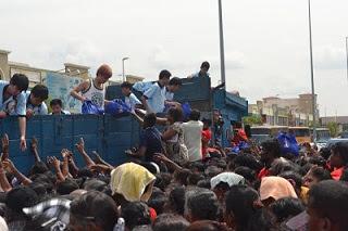 Himpunan Rakyat Bersama Perdana Menteri di Dataran Tesco Bandar Rinching, Semenyih,