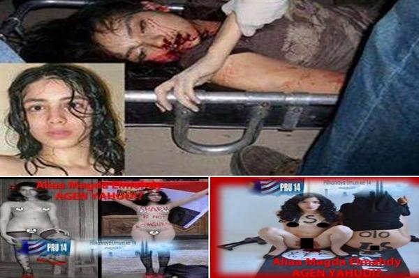 BAYAR CASH Aliyaa Magda Alirkan Darah Haid Atas Kalimah Allah Akhirnya Meninggal Dunia