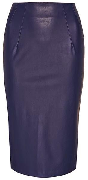 Primark online: falda lápiz en azul