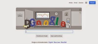 Tampilan Halaman Awal Google