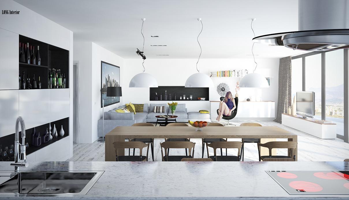 10 fotos de salas modernas que todos quisiéramos tener en nuestra casa