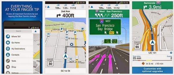 تطبيق Garmin viago