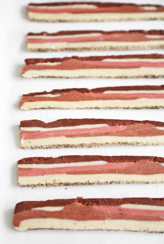 Applewood Bacon Shortbread Cookies   Sprinkle Bakes