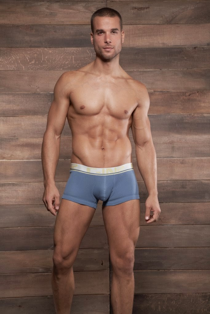 C-IN2 Pop Color Army Trunk Underwear Blue Shadow Gayrado