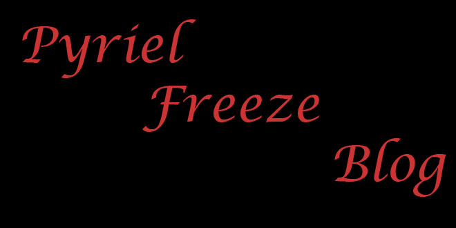 Pyriel Freeze Blog