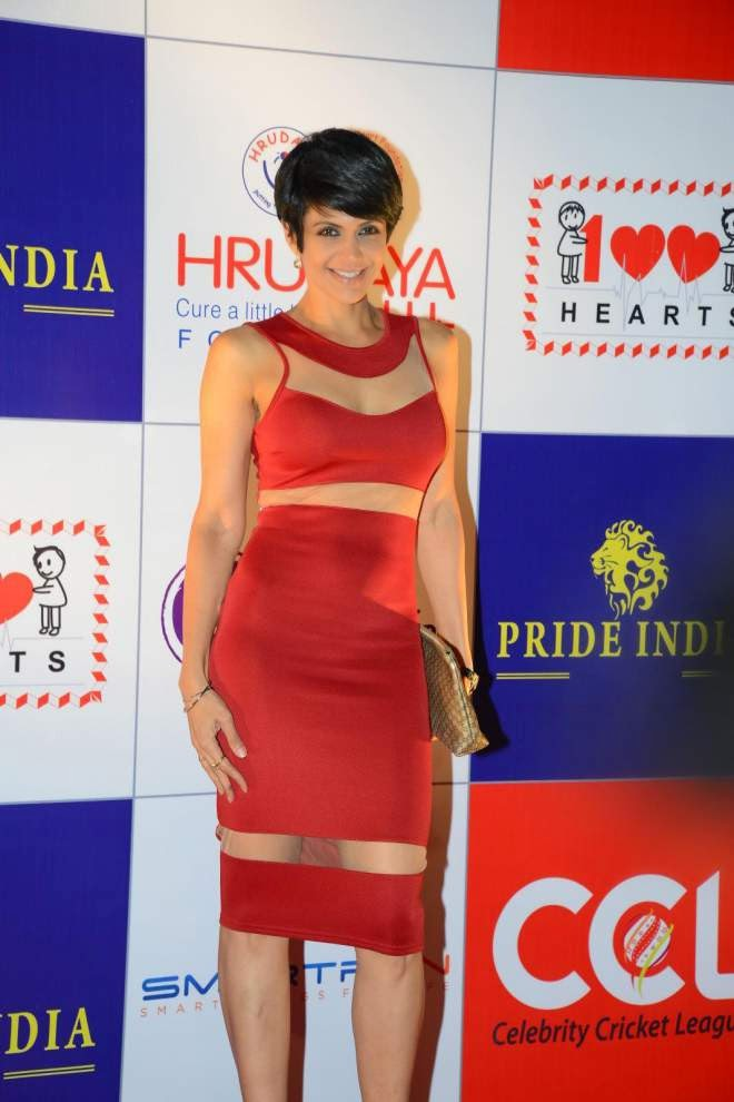 Mandira Bedi Short Mini Dress Latest Stills